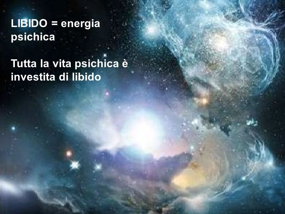 LIBIDO = energia psichica