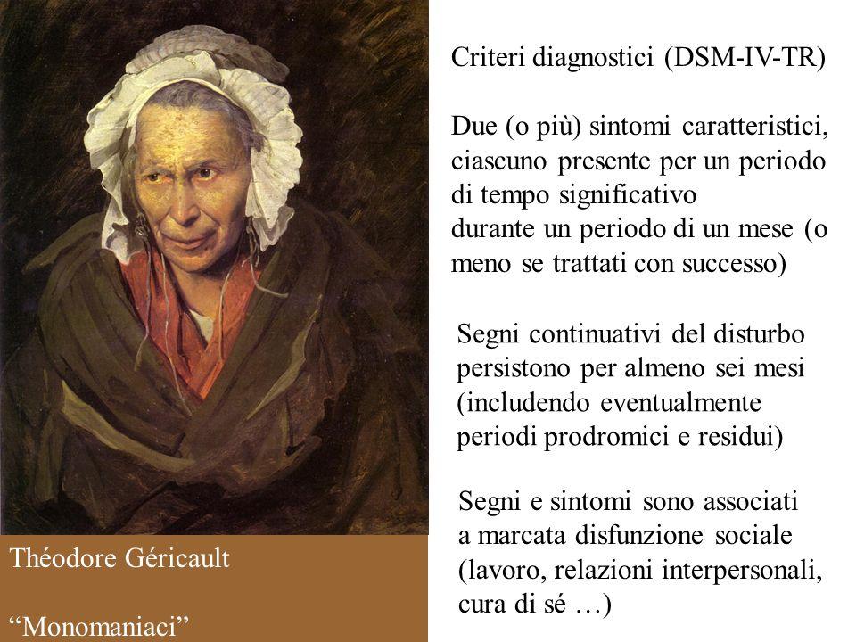 Criteri diagnostici (DSM-IV-TR)