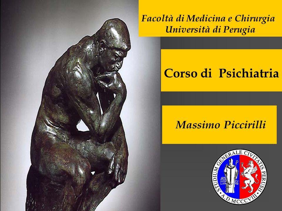 Corso di Psichiatria Massimo Piccirilli