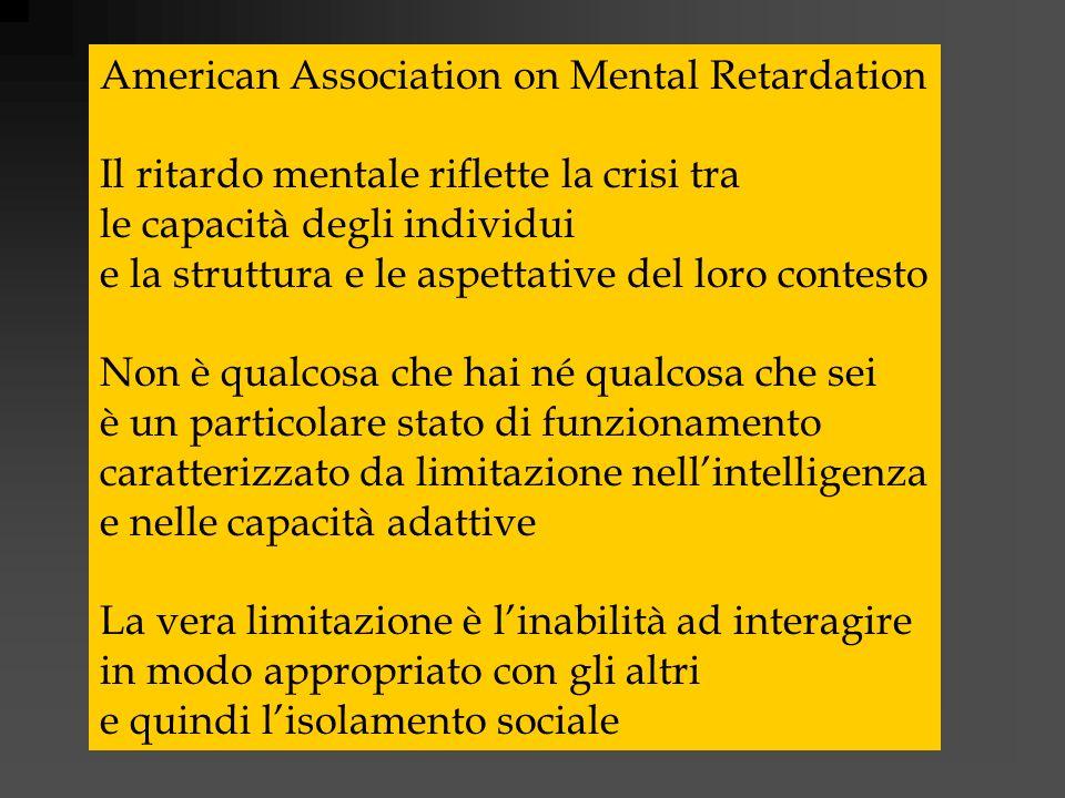 American Association on Mental Retardation
