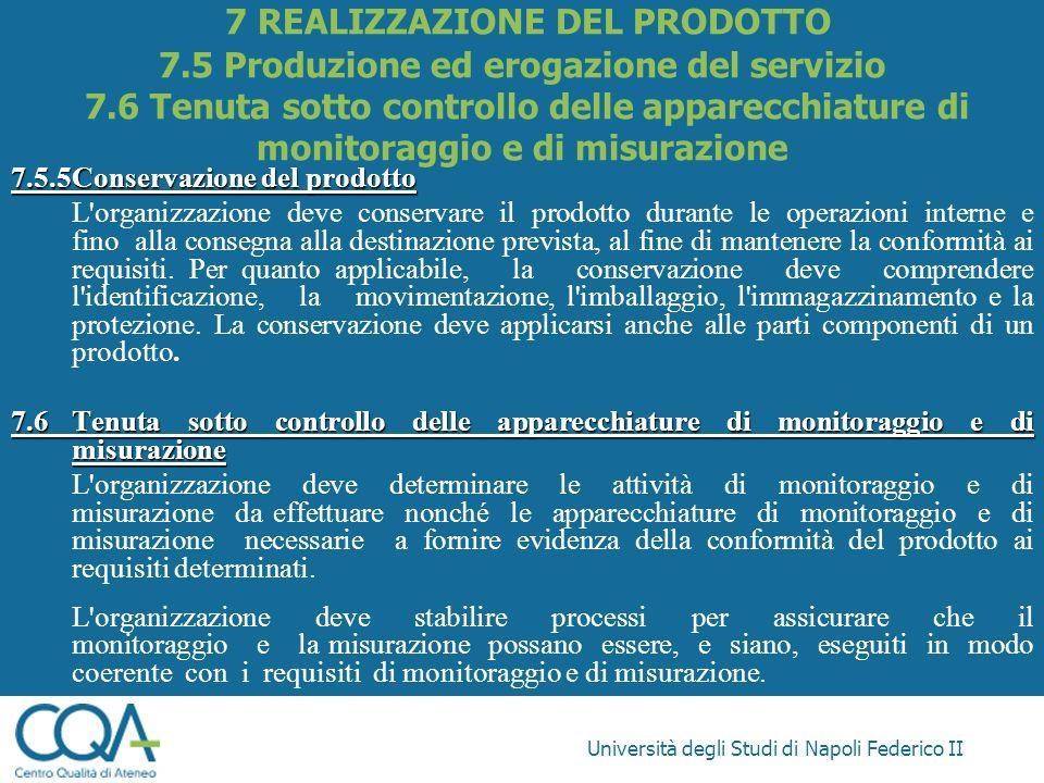 7 REALIZZAZIONE DEL PRODOTTO 7