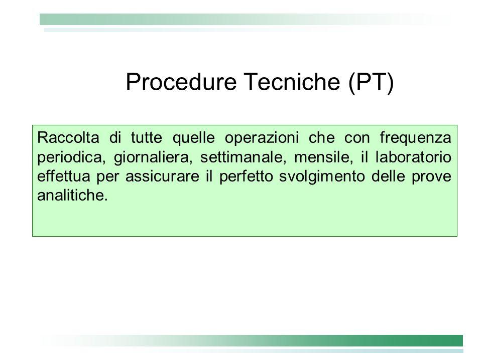 Procedure Tecniche (PT)