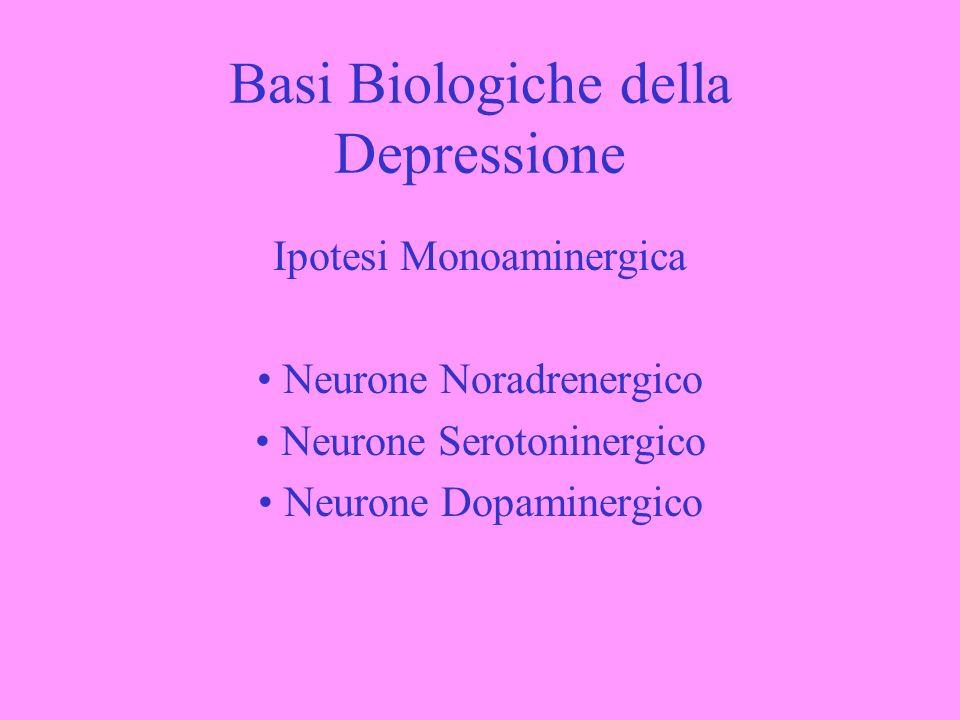 Basi Biologiche della Depressione