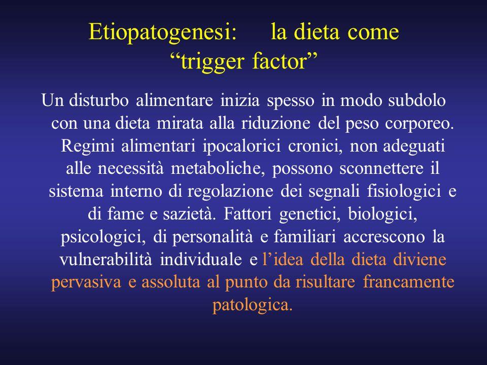 Etiopatogenesi: la dieta come trigger factor