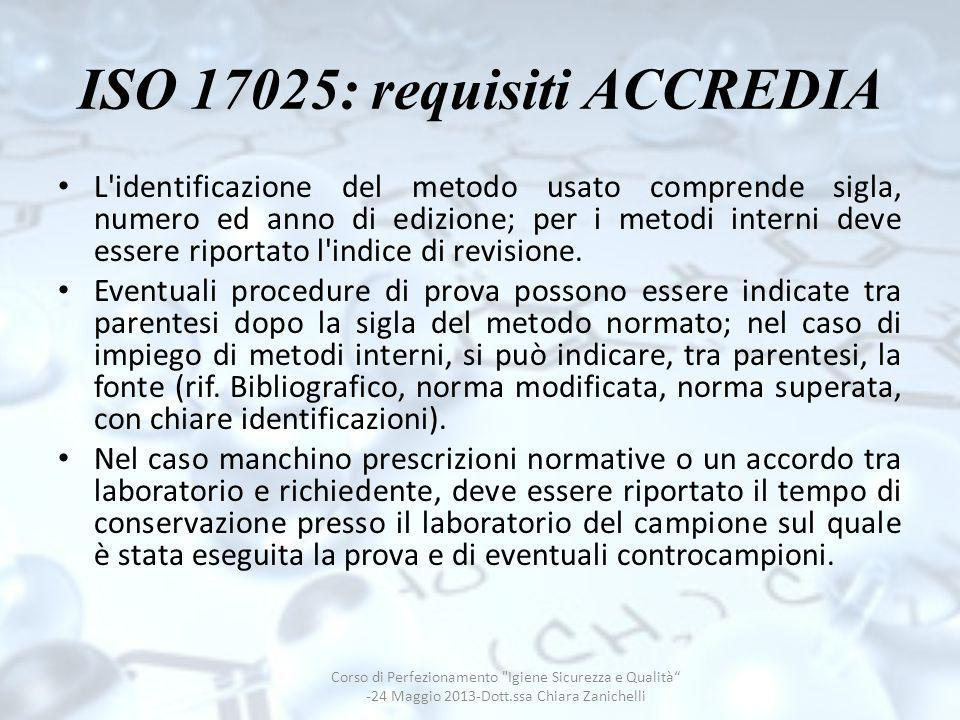 ISO 17025: requisiti ACCREDIA