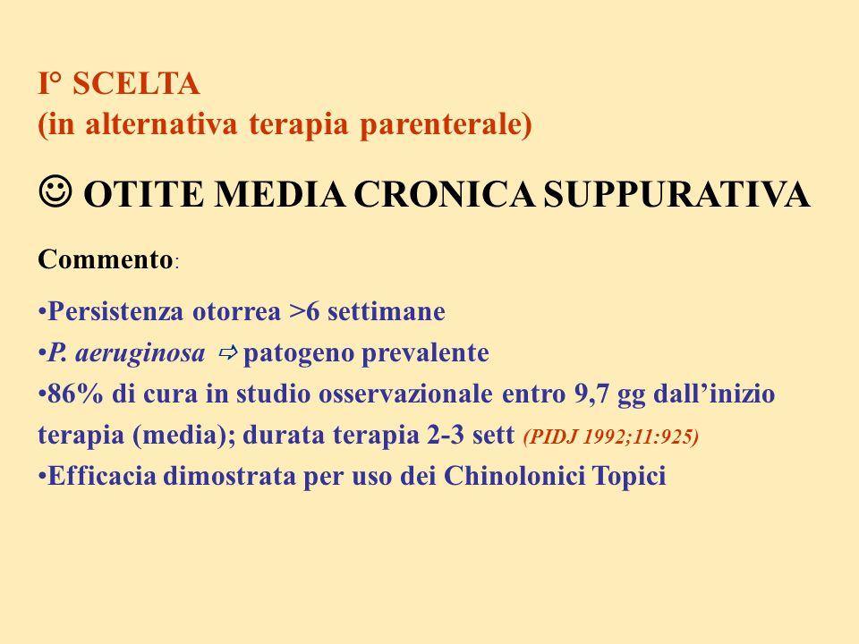  OTITE MEDIA CRONICA SUPPURATIVA