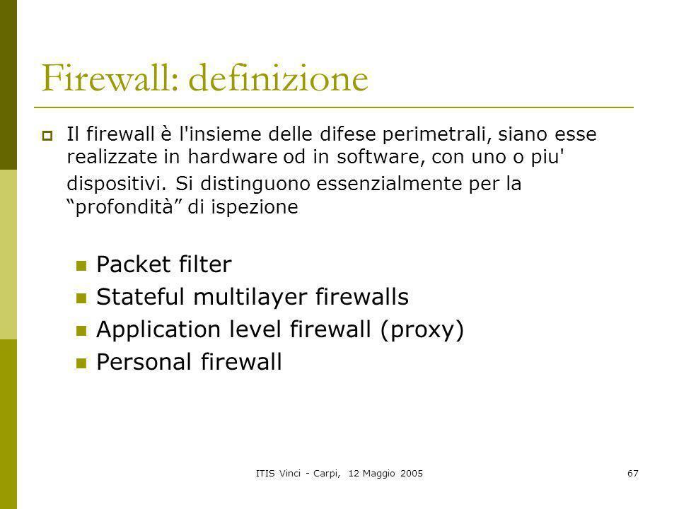 Firewall: definizione