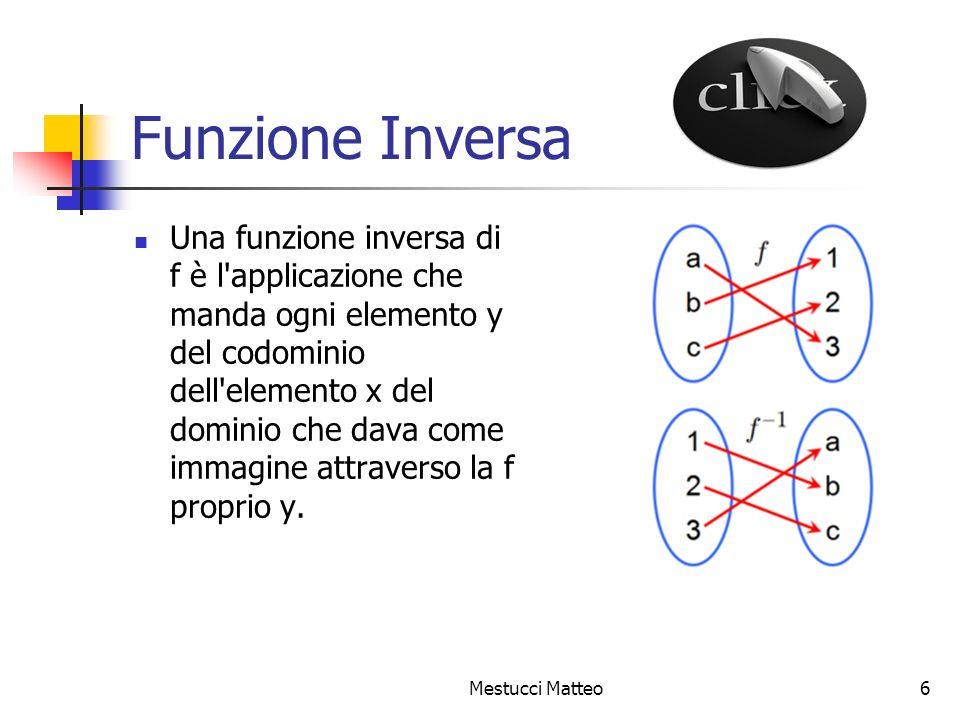 Funzione Inversa