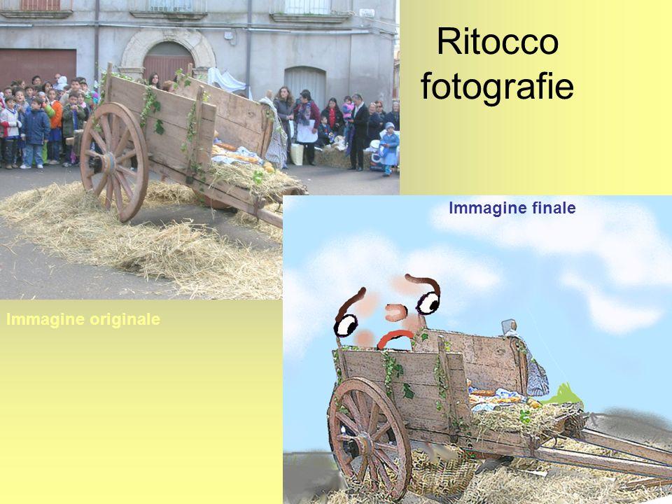 Ritocco fotografie Immagine finale Immagine originale