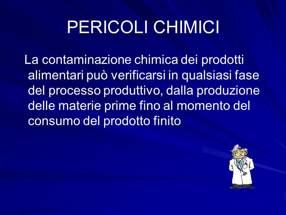 PERICOLI CHIMICI