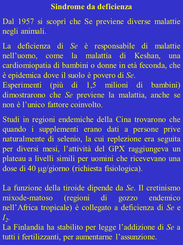 Sindrome da deficienza