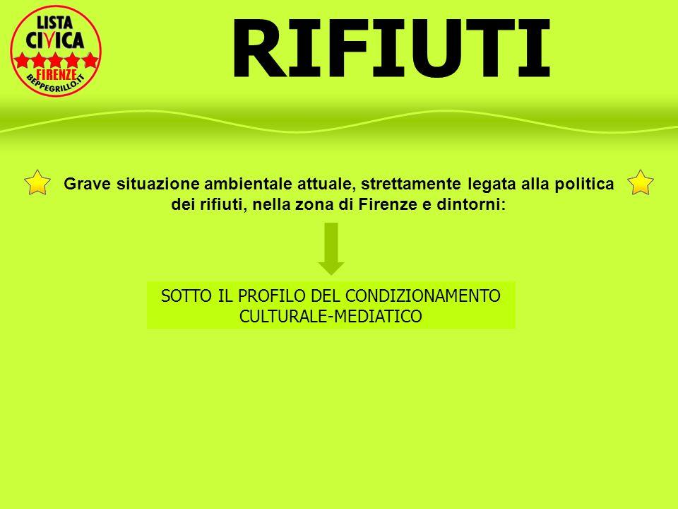 SOTTO IL PROFILO DEL CONDIZIONAMENTO CULTURALE-MEDIATICO