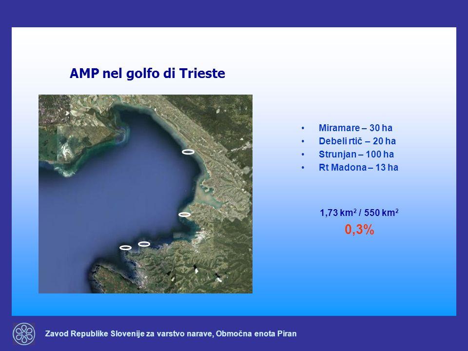 AMP nel golfo di Trieste