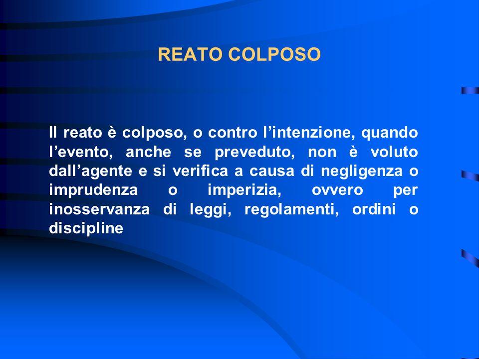 REATO COLPOSO