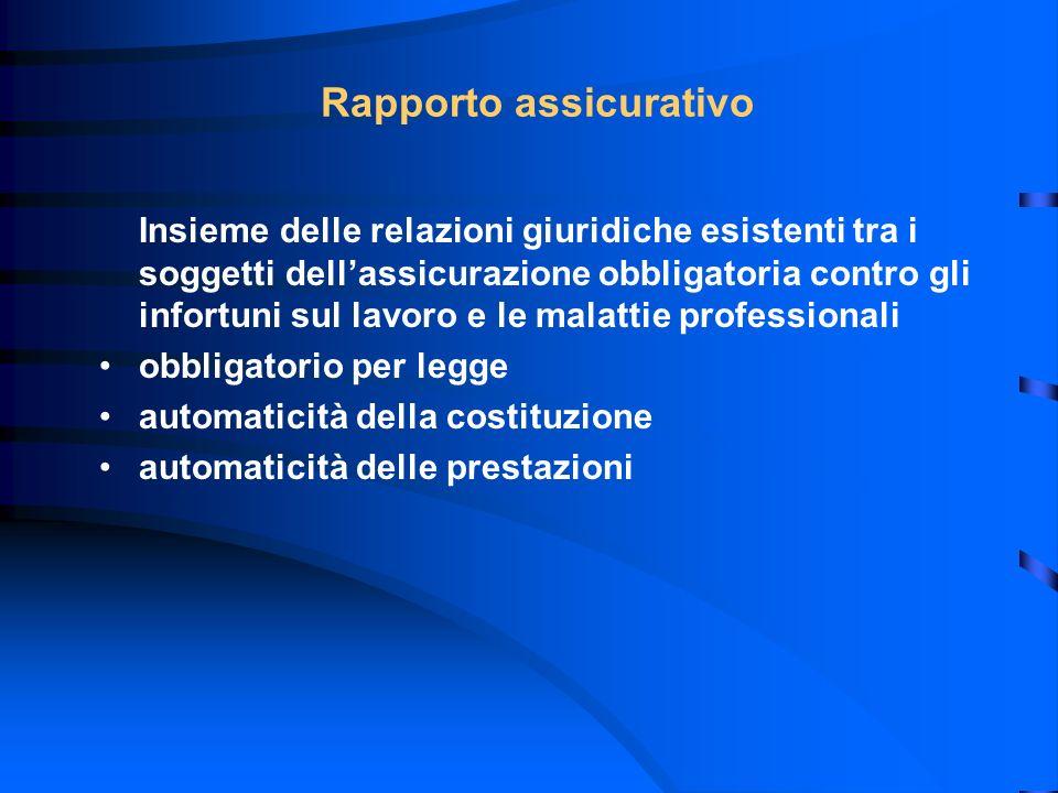 Rapporto assicurativo