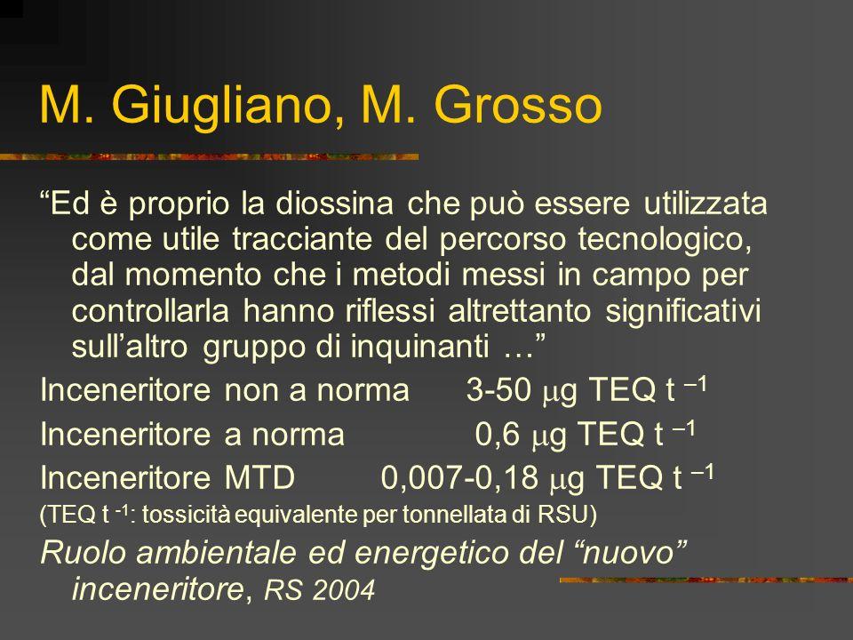 M. Giugliano, M. Grosso