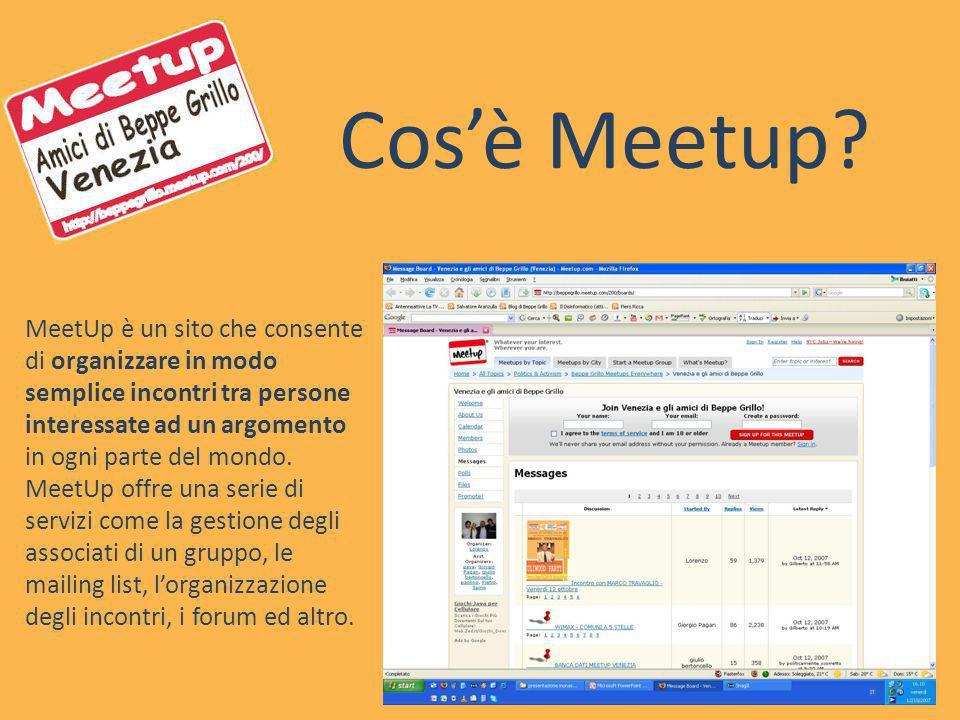 Cos'è Meetup
