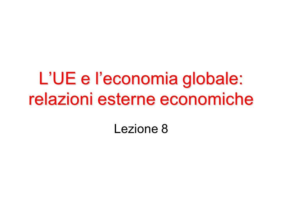 L'UE e l'economia globale: relazioni esterne economiche