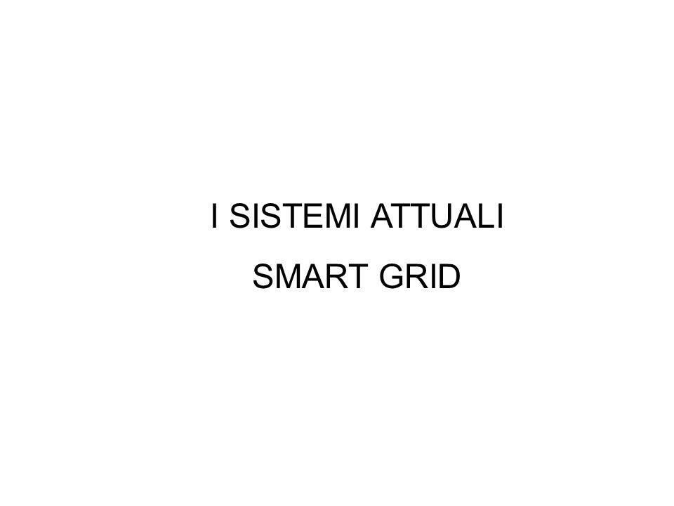 I SISTEMI ATTUALI SMART GRID