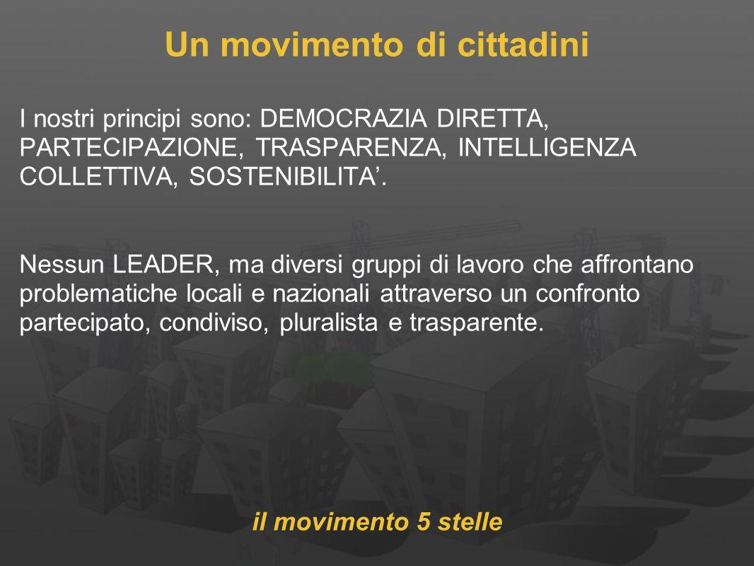 Un movimento di cittadini