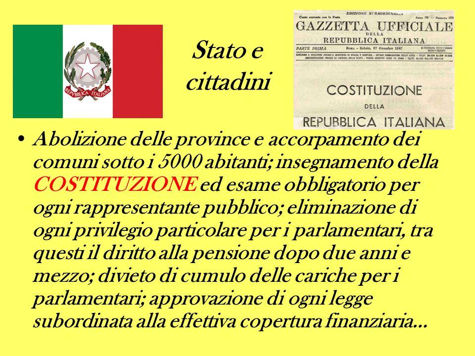 Stato e cittadini