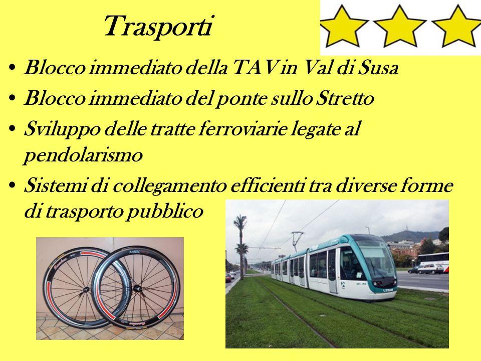 Trasporti Blocco immediato della TAV in Val di Susa