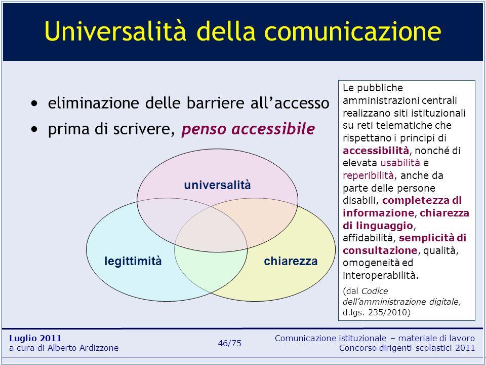 Universalità della comunicazione