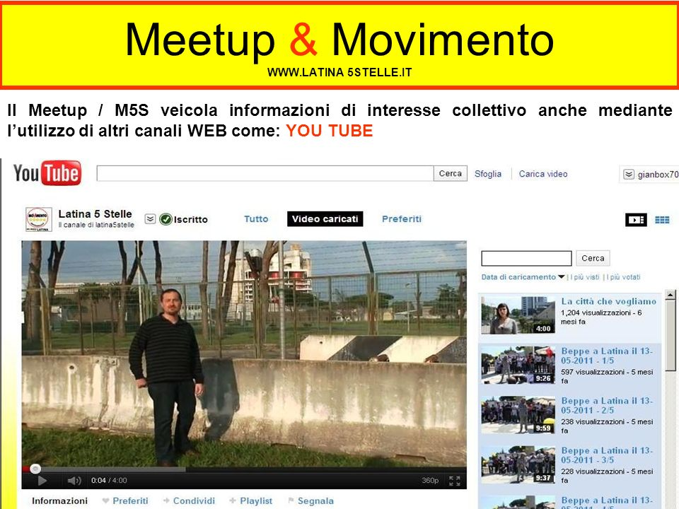 Meetup & Movimento   5STELLE.IT