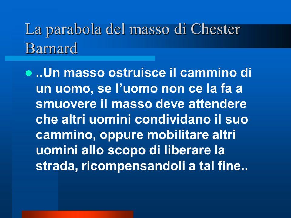 La parabola del masso di Chester Barnard