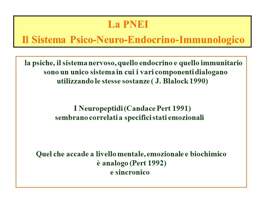 Il Sistema Psico-Neuro-Endocrino-Immunologico