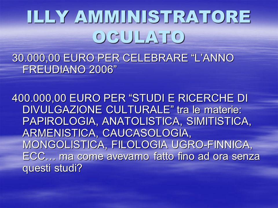 ILLY AMMINISTRATORE OCULATO