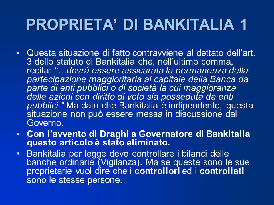 PROPRIETA' DI BANKITALIA 1