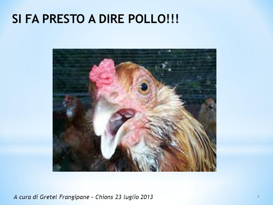 SI FA PRESTO A DIRE POLLO!!!