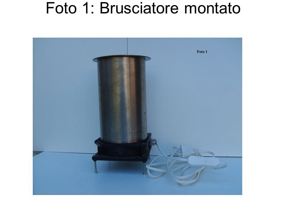 Foto 1: Brusciatore montato