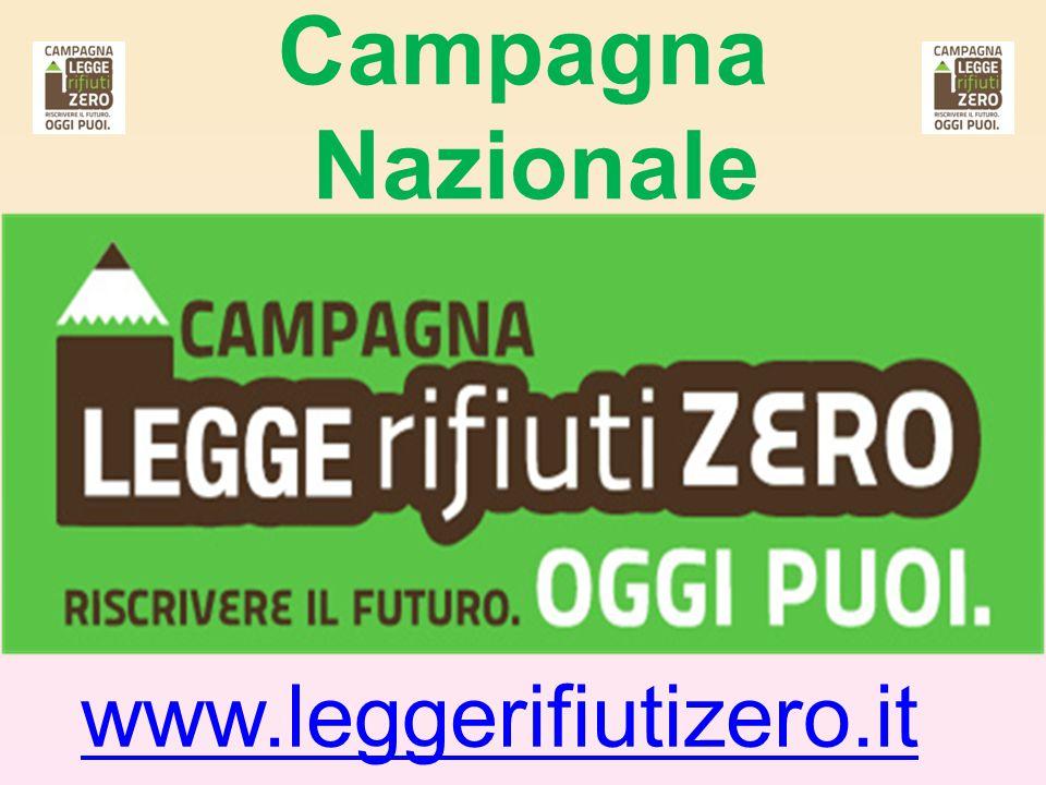 Campagna Nazionale www.leggerifiutizero.it