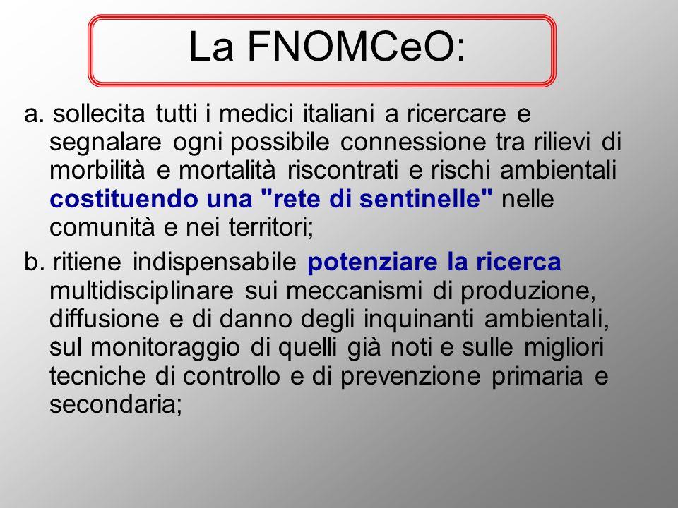 La FNOMCeO: