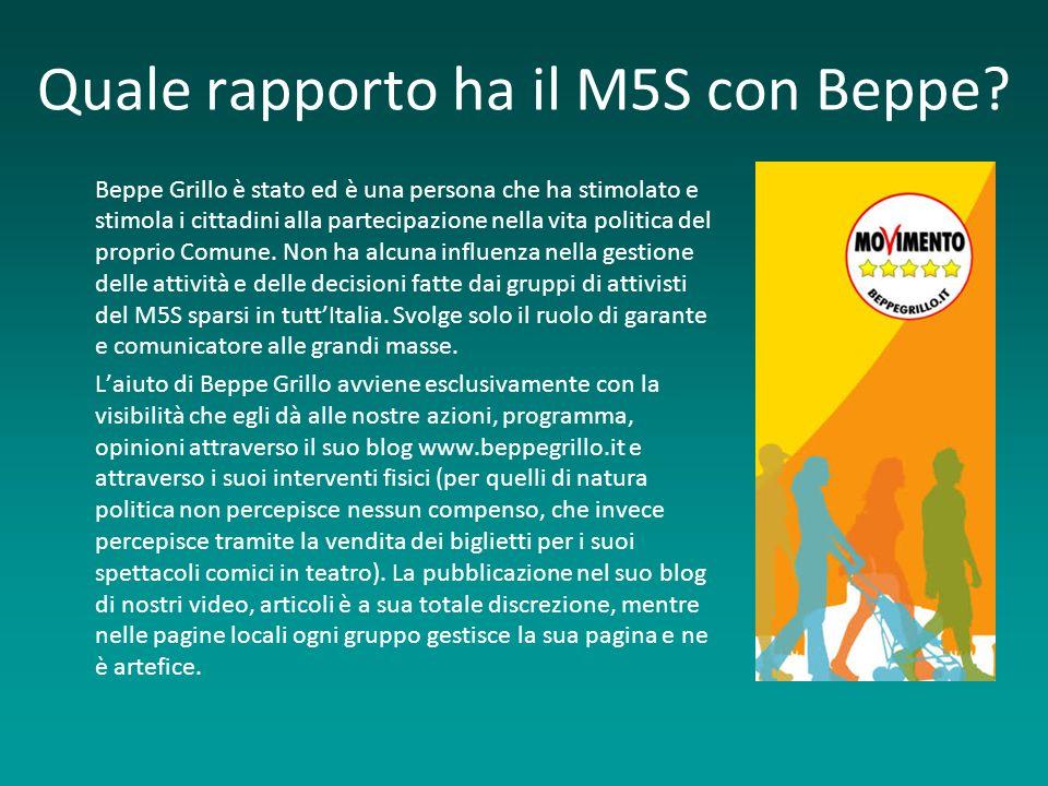 Quale rapporto ha il M5S con Beppe