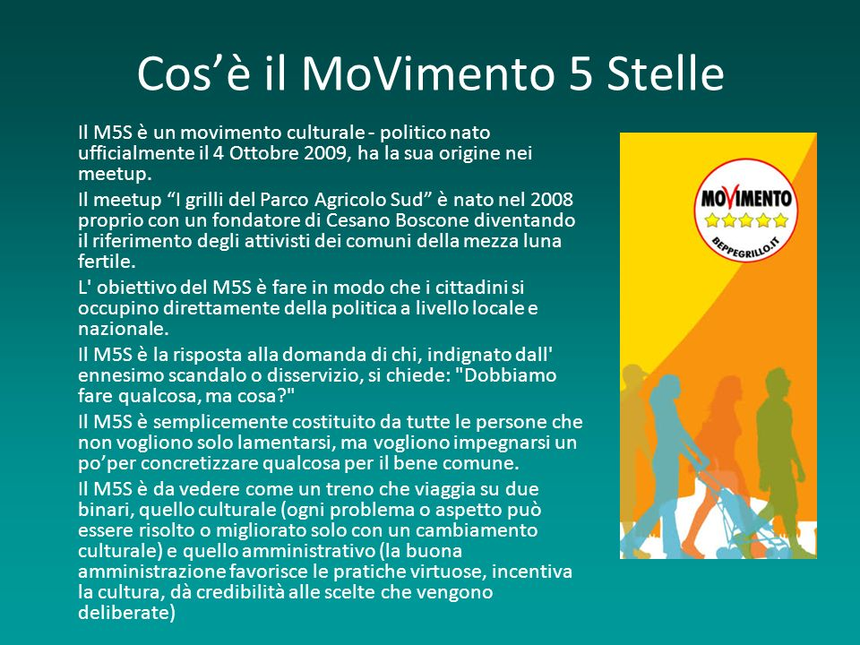 Cos'è il MoVimento 5 Stelle