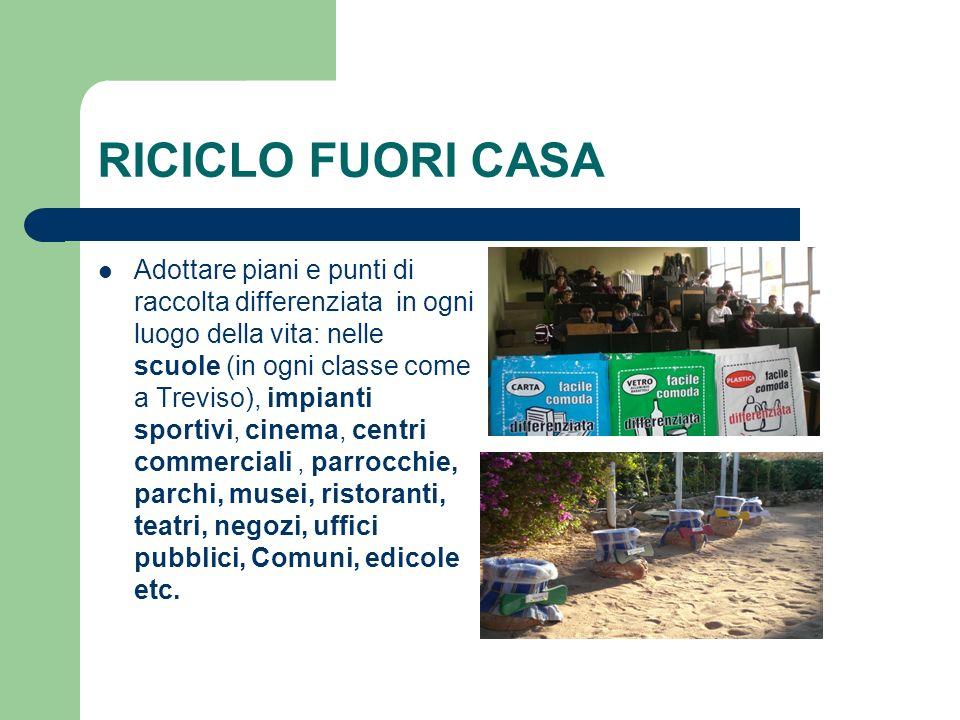 RICICLO FUORI CASA