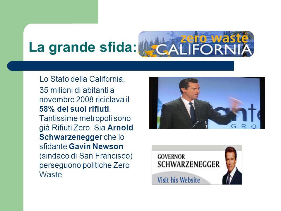 La grande sfida: Lo Stato della California,