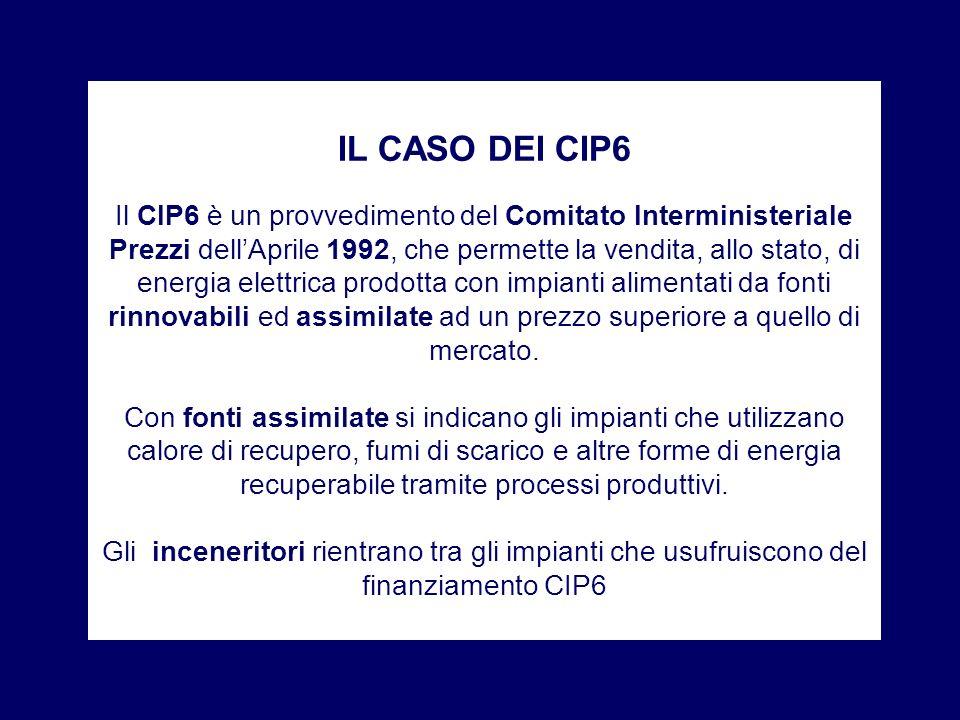 IL CASO DEI CIP6