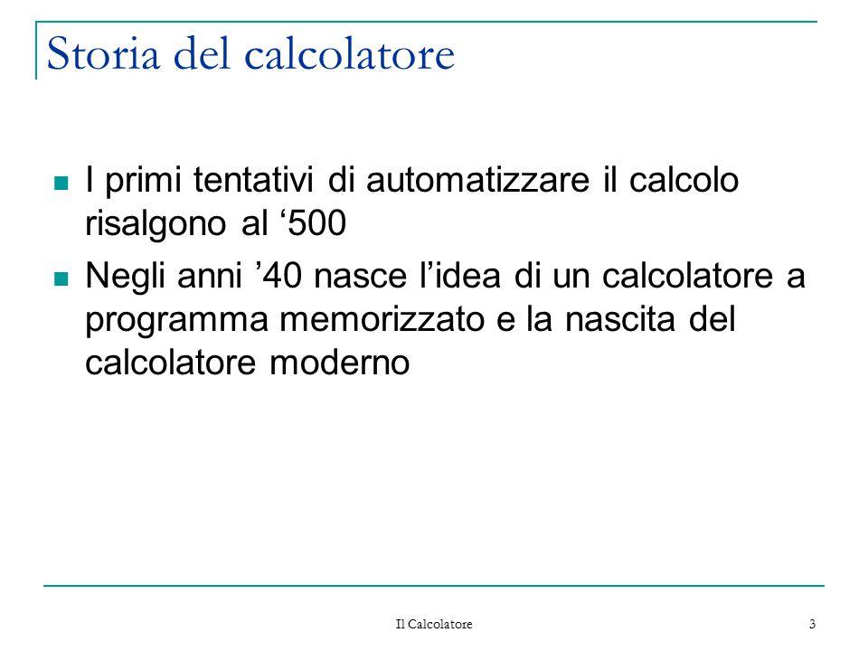 Storia del calcolatore