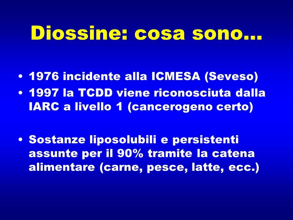 Diossine: cosa sono… 1976 incidente alla ICMESA (Seveso)