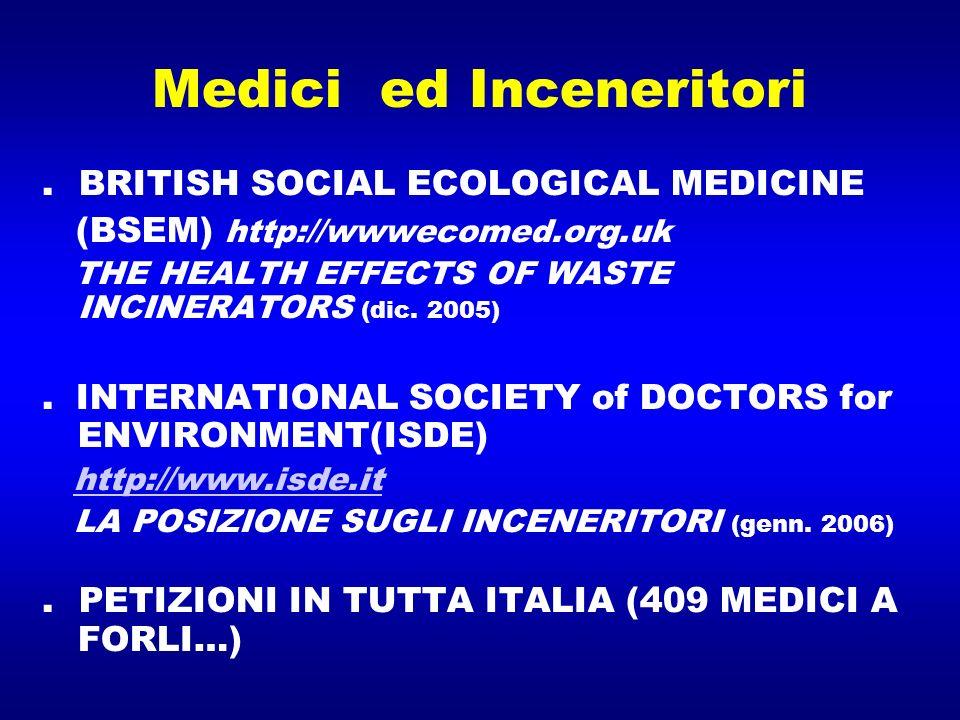 Medici ed Inceneritori