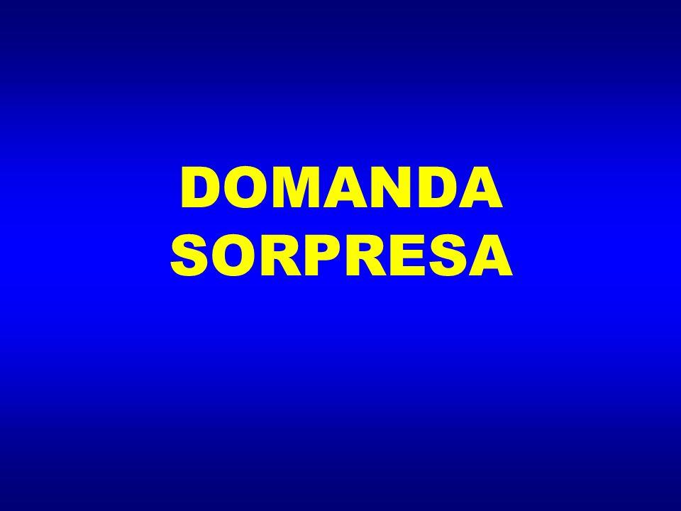 DOMANDA SORPRESA