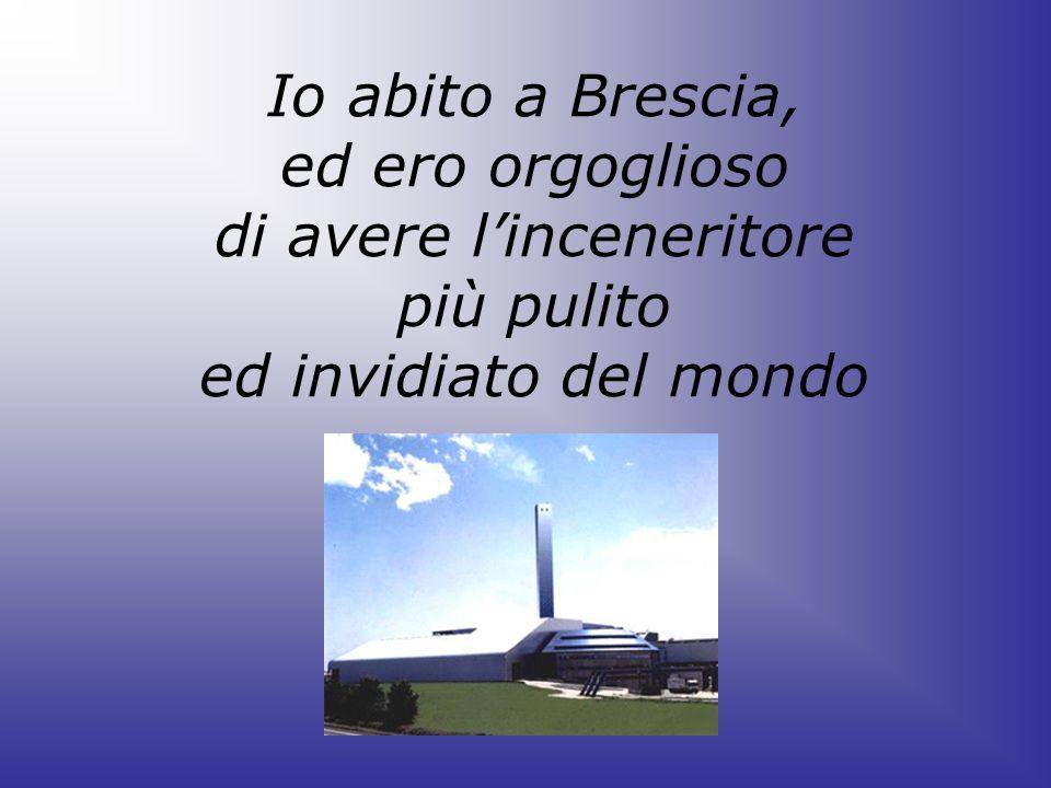 Io abito a Brescia, ed ero orgoglioso di avere l'inceneritore più pulito ed invidiato del mondo