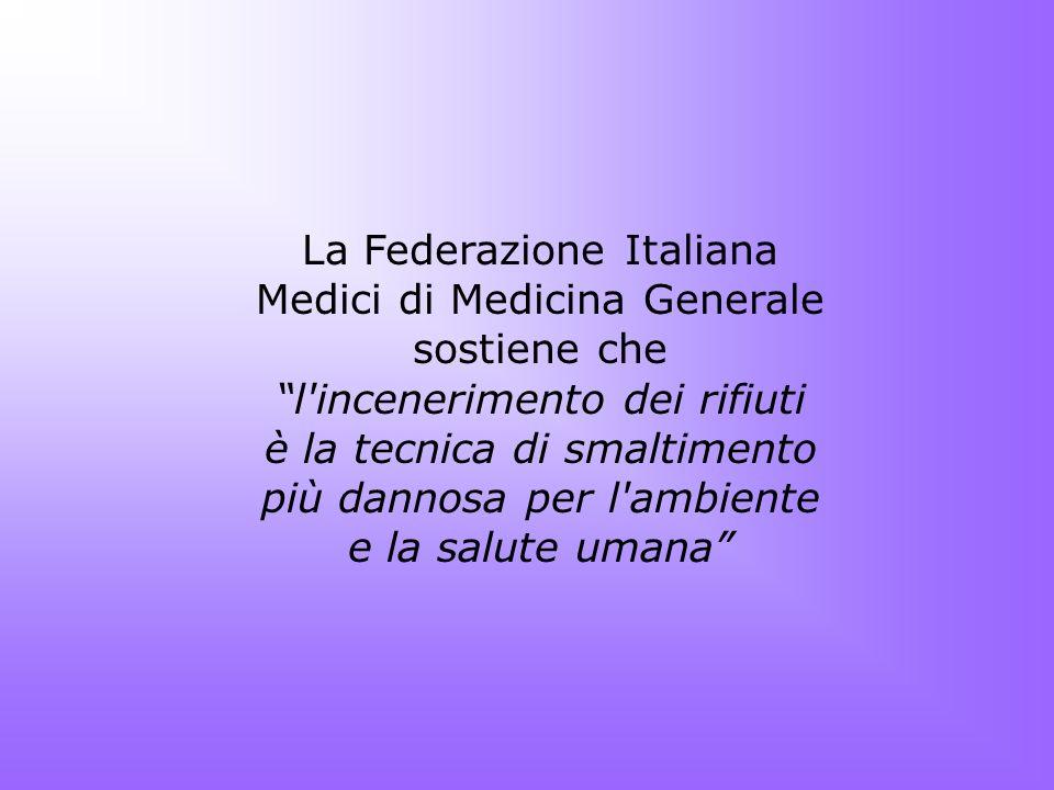 La Federazione Italiana Medici di Medicina Generale sostiene che