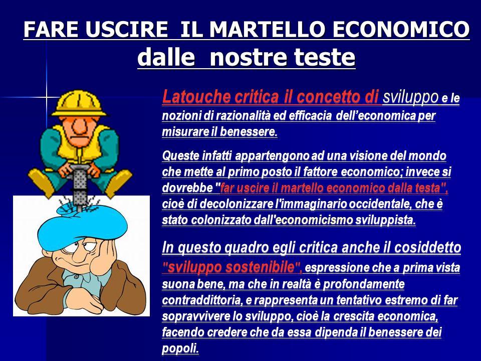 FARE USCIRE IL MARTELLO ECONOMICO