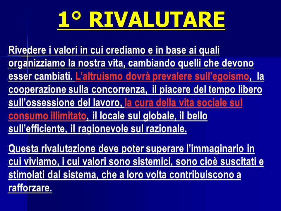 1° RIVALUTARE