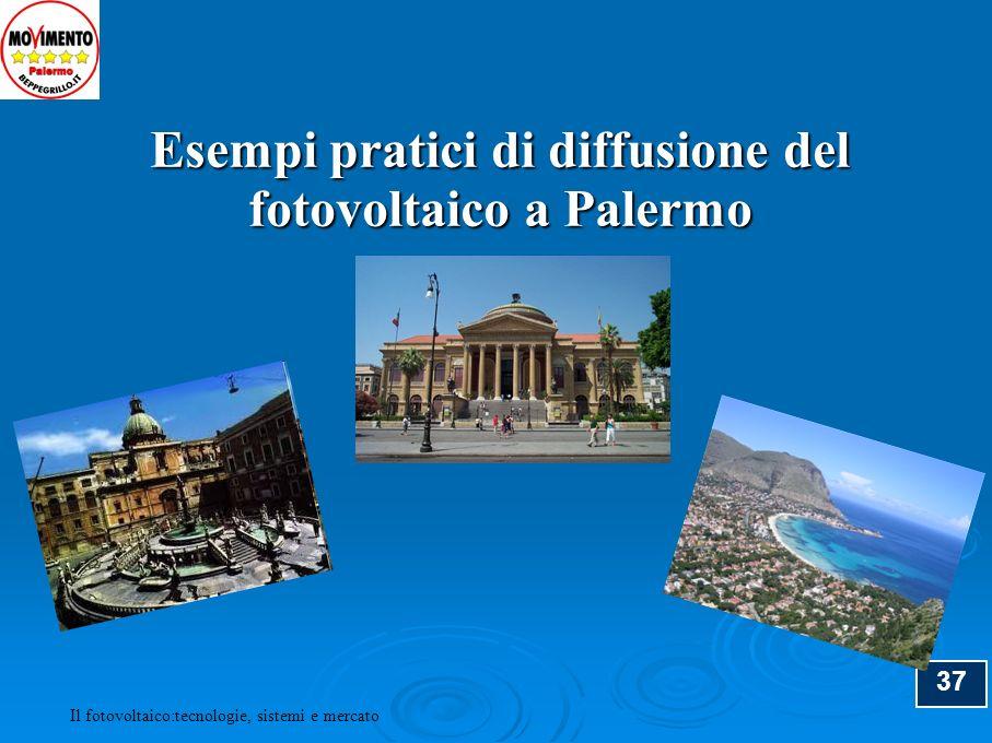 Esempi pratici di diffusione del fotovoltaico a Palermo